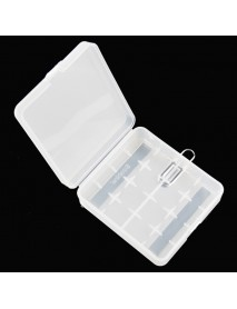 Soshine SBC-017 Plastic Battery Case for 1-4 pcs 18650 Batteries - Transparent (1 pc)