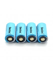 Soshine LiFePo4 15266( IFR CR2) 3.2V 300mAh Battery (4 pcs)