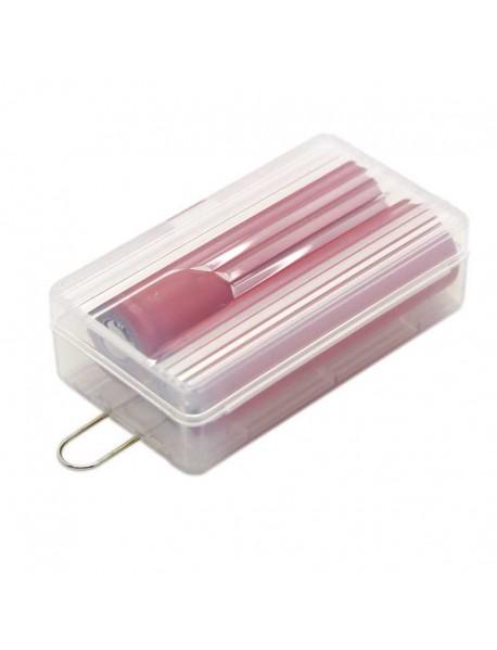 Soshine SBC-025 Plastic Battery Case for 1-2 pcs 18650 Battery - Transparent (1 pc)