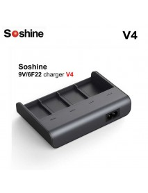 Soshine V4 9V Ni-MH Li-ion LiFePO4 Charger