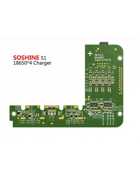 Soshine S1 4 x 18650 Li-ion Battery Charger for 18650/18650/17650/18500/17500