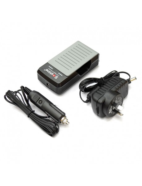Soshine S2 Li-ion Battery Charger for 18650/17650--black