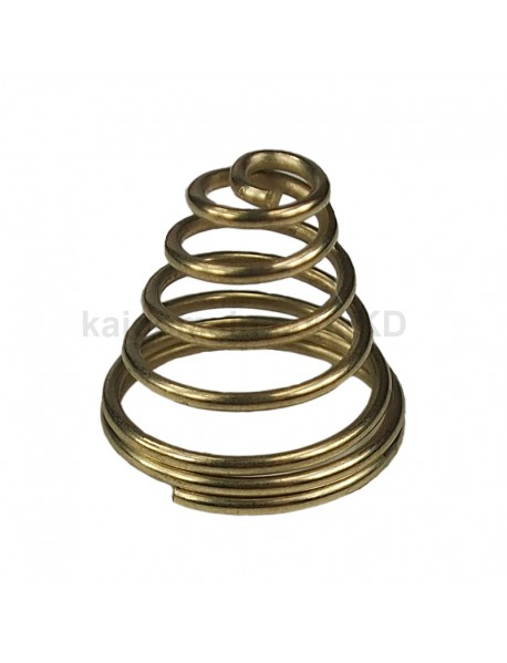 19mm (D) x 17mm (H) DIY Gold Plated Battery / Driver Contact Support Springs for Flashlights (5 pcs)
