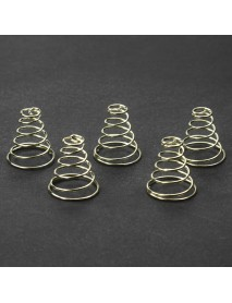 21mm (D) x 23mm (H) Gold Plated Spring (5 PCS)