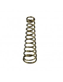 DIY Gold Plated Battery / Driver Contact Support Springs 6mm(D)x21mm(H) for Flashlights - 5 pcs