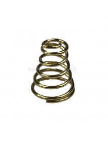 9mm(D) x 12mm(H) Gold Plated Bronze Spring Battery / Driver Contact Support Springs ( 5 pcs )