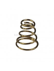 9mm(D) x 10mm(H) Gold Plated Bronze Spring Battery / Driver Contact Support Springs ( 5 pcs )