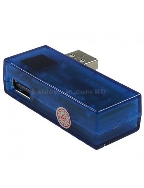 KW201 Digital USB Current And Voltage Meter with Red Digital Display