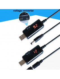 KW-912V DC-DC USB Power Boost Cable 5V to 9V / 12V