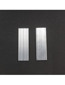 DIY Aluminium Led Heatsink for LED Cooling Rectangle-Type (2 pcs)
