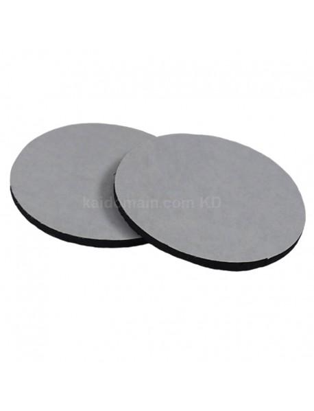 40mm(D) Adhesive Rubber Pad - Black (5 pcs)