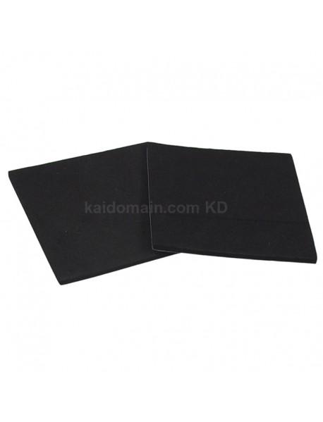 50mm(W) x 50mm(L) Adhesive Foam Pad - Black (10 pcs)