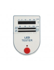 LED Bulb Testing Box - White