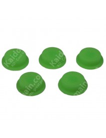 Green Fluorescent Light Silicone Tailcaps 14mm x 6mm ( 5 PCS )