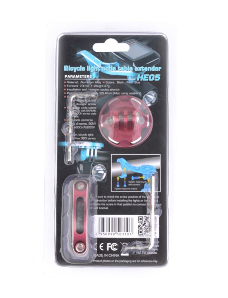 TrustFire HE05 bicycle handlebard holder for Stopwatch Bike light and Camera