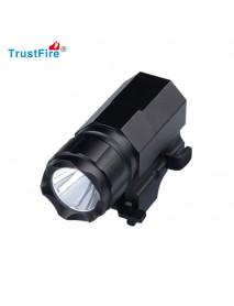 TrustFire P05 Cree XP-G R5 320 Lumens 2-Mode Rechargeable Gun Mount Light