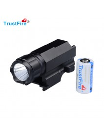 TrustFire P10 Cree XP-G R5 320 Lumens 2-Mode Tactical Gun Flashlight (1xCR123A/16340)