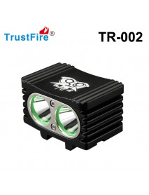 TrustFire TR-D002 2 x Cree XM-L2 4-Mode 1000 Lumens Bike Light with Battery Pack and Charger