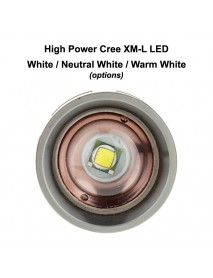TrustFire Z5 Cree XM-L White 6500K 1000 Lumens 5-Mode Zoomable LED Flashlight (2x18650)