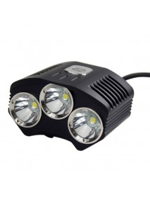 TrustFire TR-D009 3 x Cree T6 LED 4-Mode 2100 Lumens Bicycle Light with Charger, Battery Set   and Carrying Case