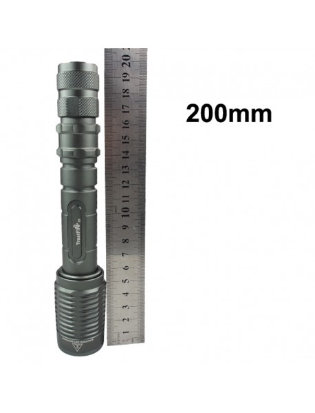 TrustFire Z5 Cree XM-L2 1600 Lumens 5-Mode Zoomable LED Flashlight (2 x 18650)