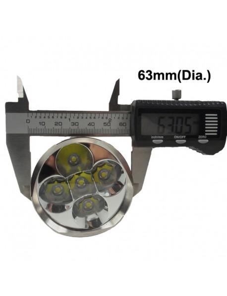 TrustFire TR-J16 5 x Cree XM-L2 4500LM 5-Mode LED   Flashlight (2x18650 / 3x18650)