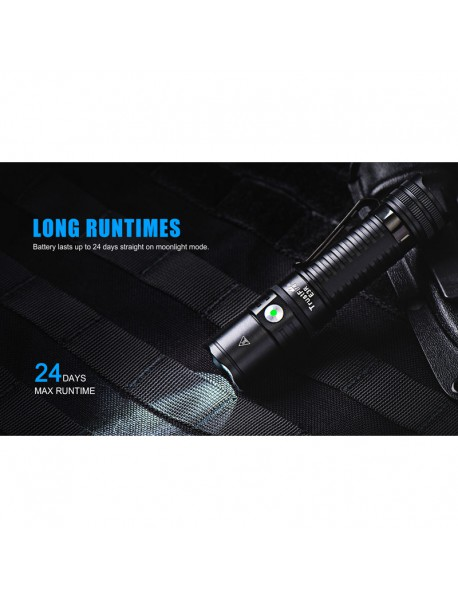 TrustFire E3R CREE XP-L 1000 Lumens USB Rechargeable LED Flashlight