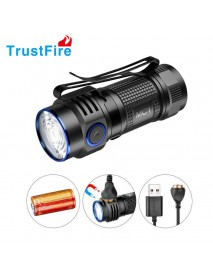 TrustFire MC1 CREE XP-L HI 1000 Lumens USB Rechargeable LED Flashlight