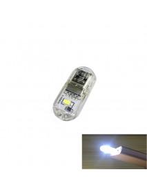 USB Powered 2xLED USB LED Light - Transparent (2 pcs)