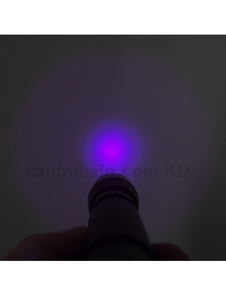 502B UV 395nm 1-Mode OP Flashlight (1 x 18650)