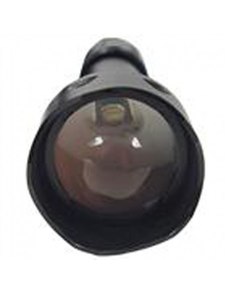 UF-T20 Osram IR850nm / IR940nm Infrared Red Zoomable 1-Mode IR Flashlight - Black (1 x 18650)