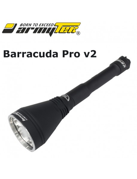 Armytek Barracuda Pro v2 XHP35 HI Warm White 1720 lumens 9-Mode LED Flashlight   (2x18650 / 1x18650)