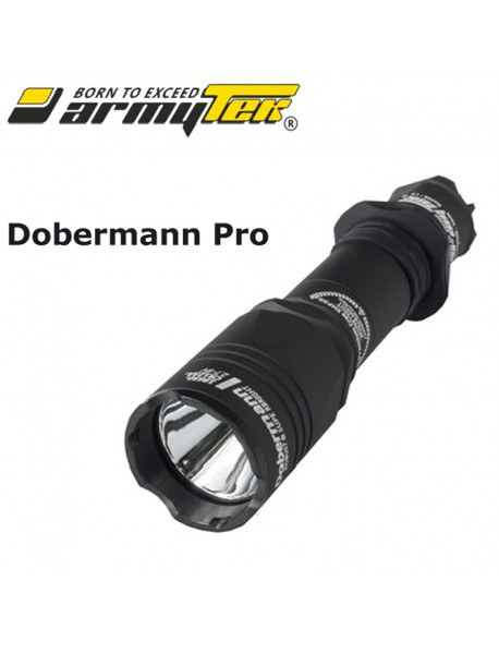 Armytek Dobermann Pro XHP35 HI Warm White 1580 lumens 9-Mode LED Flashlight (1x18650 /   2xCR123A)