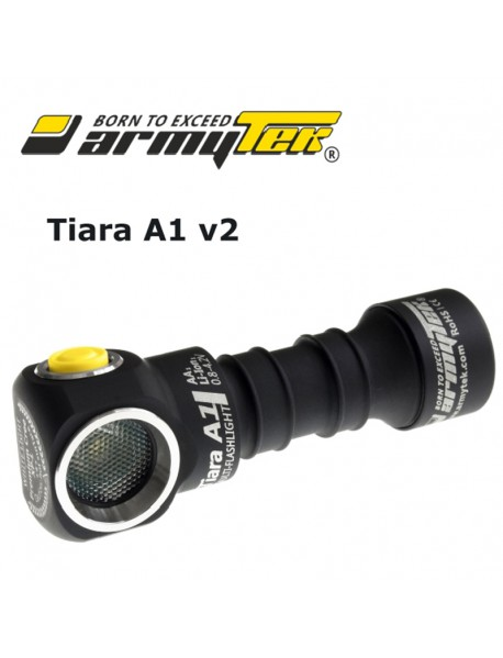 Armytek Tiara A1 v2 XP-L White 600 lumens 6-Mode LED Flashlight (1xAA / 1x14500)