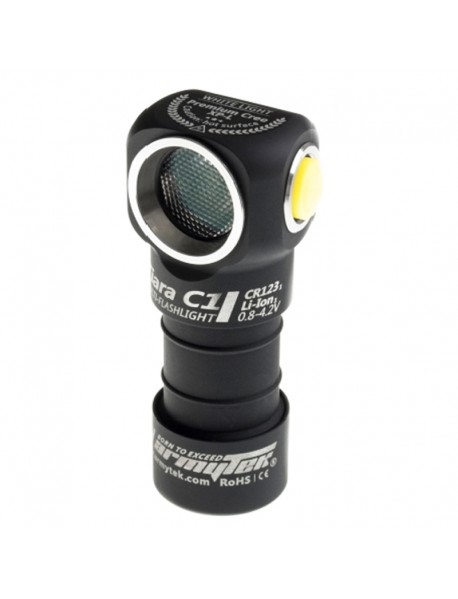 Armytek Tiara C1 v2 XM-L2 White 800 lumens 6-Mode LED Flashlight (1xCR123A / RCR123 / 18350)