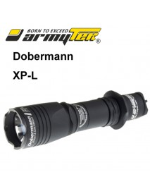Armytek Dobermann XP-L Warm White 1150 lumens 6-Mode LED Flashlight (1x18650 / 2xCR123A)
