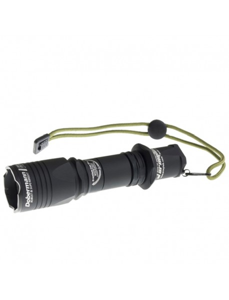 Armytek Dobermann XP-L White 1250 lumens 6-Mode LED Flashlight (1 x 18650 / 2 x CR123A)