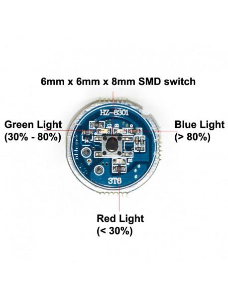 KZ-8806 3T6 28mm 5V - 12V 2800mA 5-Mode Bike Light Driver Board ( 1 pc )