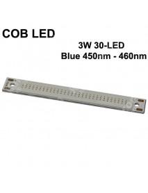 SBS COB 3W 30-LED 1000mA Blue 450nm - 460nm COB LED Emitter ( 1 pc )