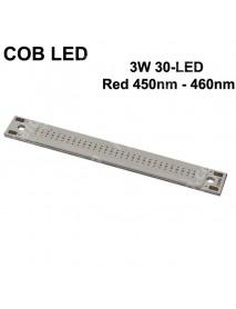 SBS COB 3W 30-LED 1000mA Red 620nm - 625nm COB LED Emitter ( 1 pc )
