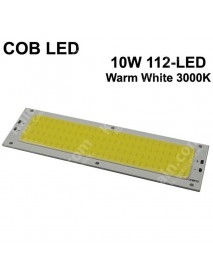 SBS COB 10W 112-LED 1300mA COB LED Emitter ( 1 pc )