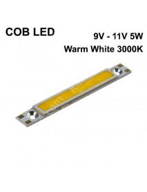 SBS 52mm(L) x 6mm(W) COB 5W 500mA Warm White 3000K COB LED Emitter ( 1 pc )