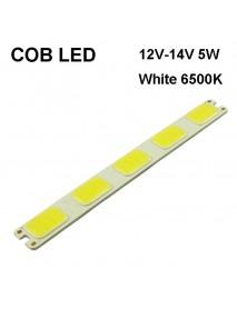 SBS 151mm(L) x 16.5mm(W) COB 12V - 14V 5W 350mA White 6000K COB LED Emitter ( 2 pcs )
