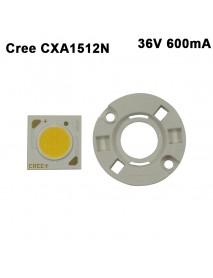 Cree CXA1512N 36V 600mA White 5000K / Warm White 3000K COB LED Emitter with holder