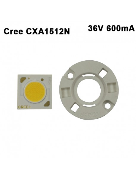 Cree CXA1512N 36V 600mA White 5000K / Warm White 3000K COB LED Emitter with holder