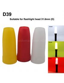 D39 Flashlight Diffuser (Inner Dia. 35mm)