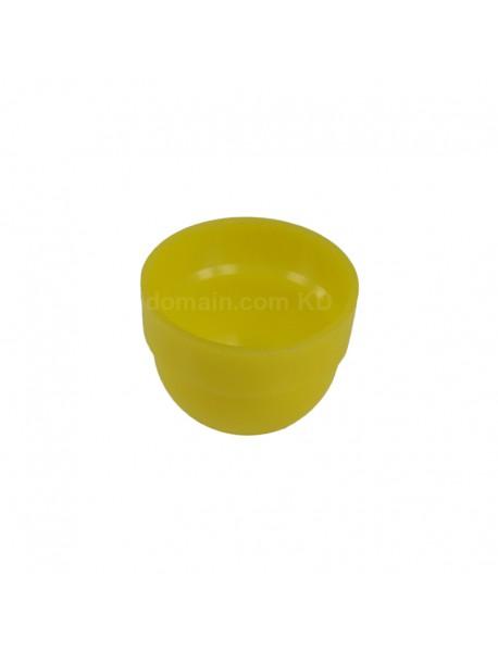 KBLD-C37 Beam Light Flashlight Diffuser for LED Flashlights - Red   Yellow White (Inner Dia. 34.5mm)