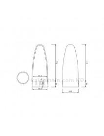 A39 Flashlight Diffuser (Inner Dia. 35.5mm)