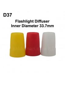 D37 Flashlight Diffuser (Inner Dia. 33.7mm)