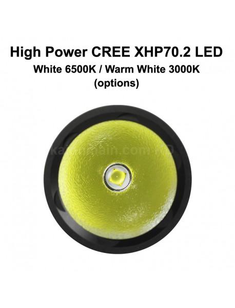 DV70B Cree XHP70.2 4000 Lumens 4-Mode Diving LED Flashlight ( 2x26650 )